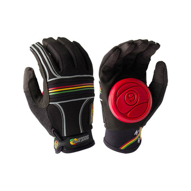 Sector 9 BHNC Rasta Small/Medium longboard gloves