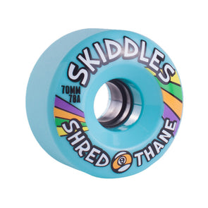 Sector 9 Skiddles 70mm 78a Blue longboard wheels