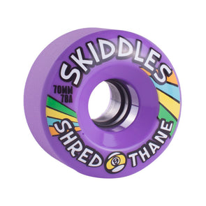 Sector 9 Skiddles 70mm 78a Purple longboard wheels