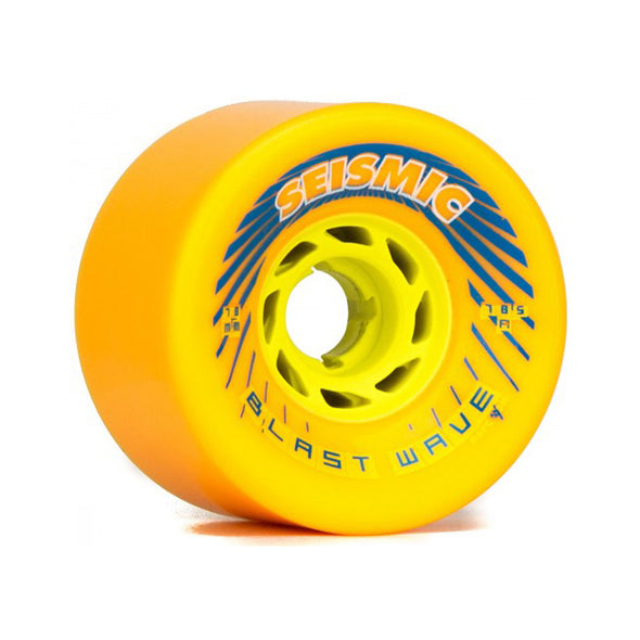 Seismic Blast Wave 78mm 78.5a Mango longboard wheels