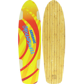 "Seismic Skate Groundswell 34.5"" longboard deck"