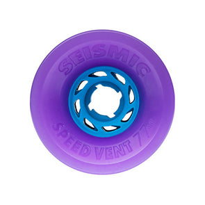 Seismic Speed Vent 77mm 84a longboard wheels