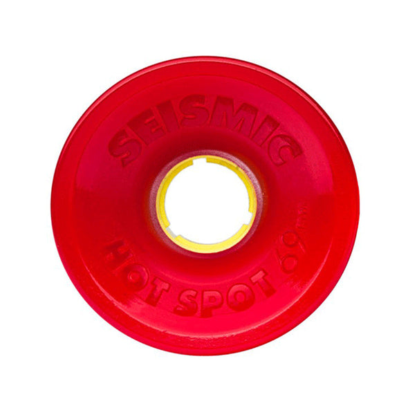 Seismic Hot Spot 69mm 80a Elixir formula longboard wheels