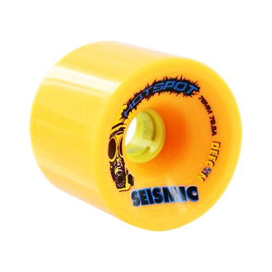 Seismic Hot Spot 76mm 78.5a Defcon formula longboard wheels