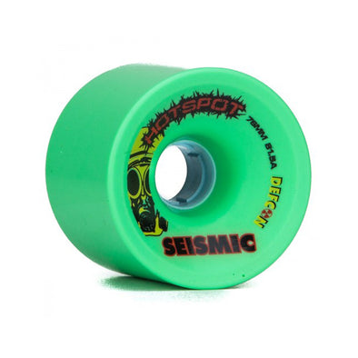 Seismic Hot Spot 76mm 81.5a Defcon formula longboard wheels
