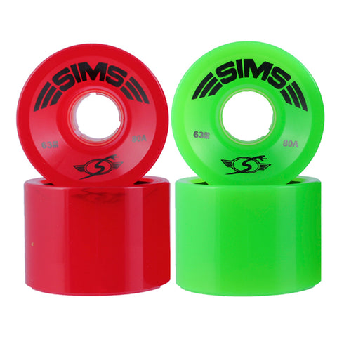 Sims Street Snakes 63mm longboard wheels