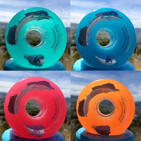 LongboardModel 64mm Sweetas longboard wheels