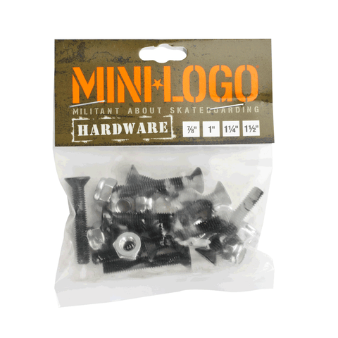Mini-logo Mounting Hardware (countersunk)