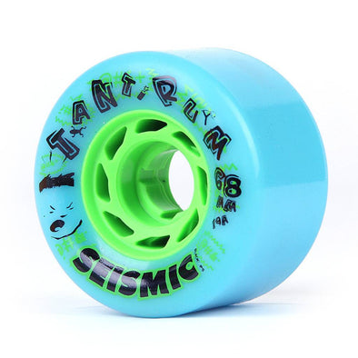 Seismic Tantrum 68mm 79a blue freeride wheels