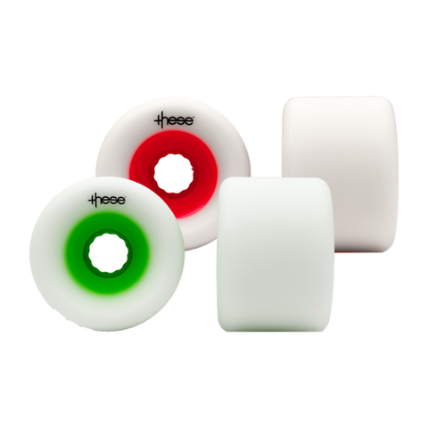 These 66mm FRF 727 78a longboard wheels