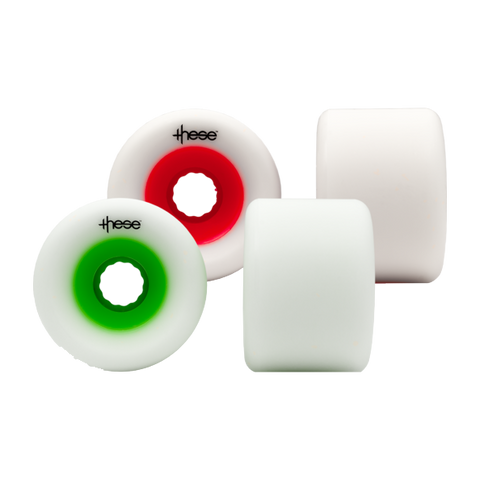 These 70mm FRF 727 78a longboard wheels