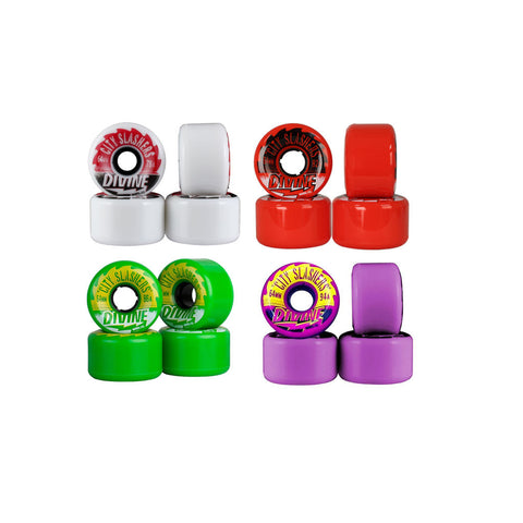 Divine City Slashers 64mm 78a longboard wheels