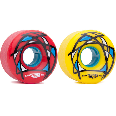 Hawgs 62mm Venables longboard wheels