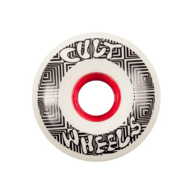 Cult Converter 70mm 85a white slide-o-matic longboard wheel