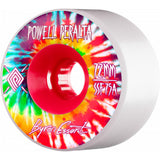 Powell Peralta Byron Essert 72mm Soft Slide white freeride wheels
