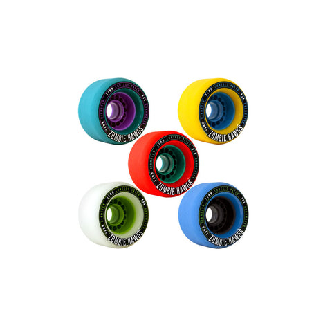 Hawgs Zombie 76mm freeride wheels