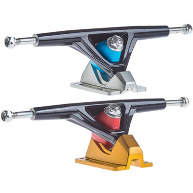 Seismic Aeon 45° split 30° hollow axle longboard trucks (set of 2)