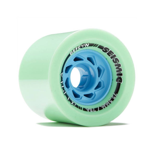 Seismic Alpha 75.5mm 78a Defcon Mint longboard wheels