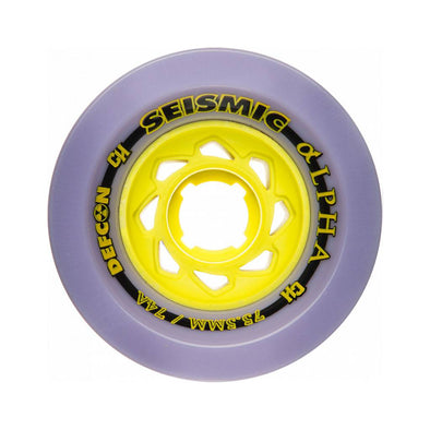 Seismic Alpha 75.5mm 74a Chase Hiller Pro wheels