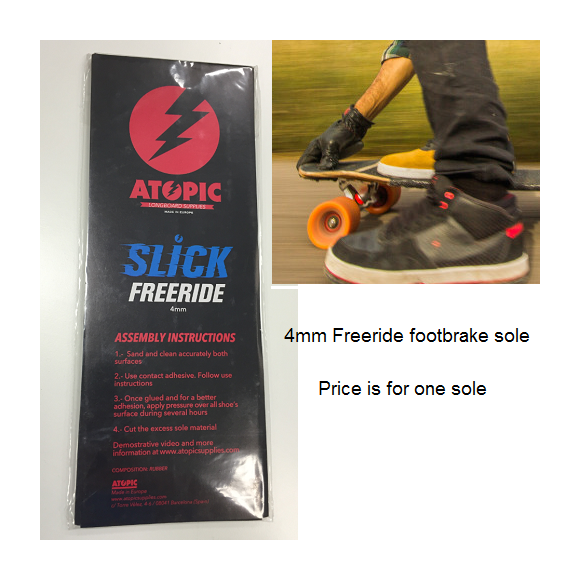Atopic 4mm Freeride Foot Brake Sole