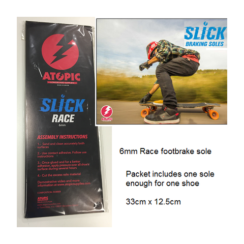 Atopic 6mm Race Foot Brake Sole