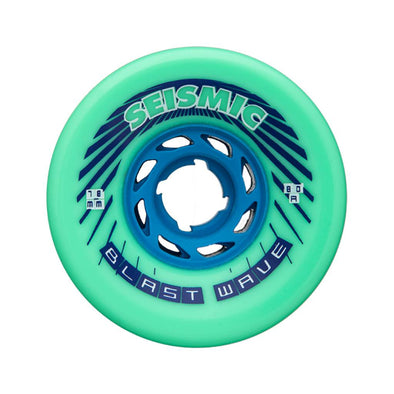 Seismic Blast Wave 78mm 80a Mint longboard wheels