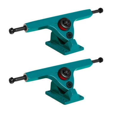 Caliber II Forty Four 184mm Midnight Green longboard trucks