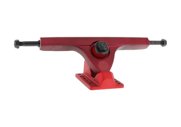 Caliber II Fifty 184mm Two Tone Red longboard trucks
