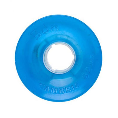 Seismic 3DM 62mm 82a clear blue longboard wheel