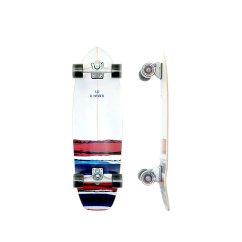 Carver USA Resin 32.5 inch surfskate complete