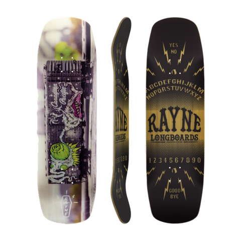 Rayne Catalyst skateboard longboard deck