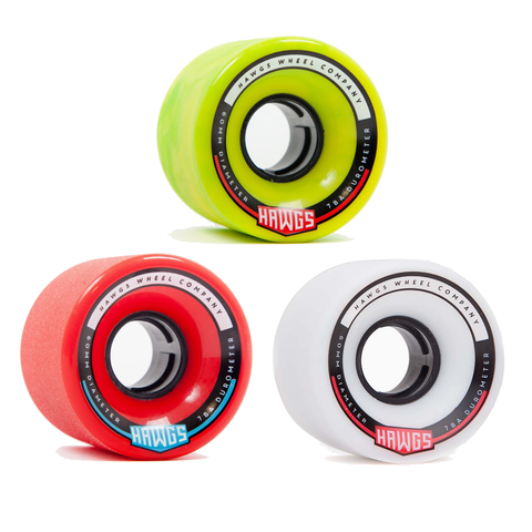 Hawgs Chubby 60mm skateboard longboard wheels