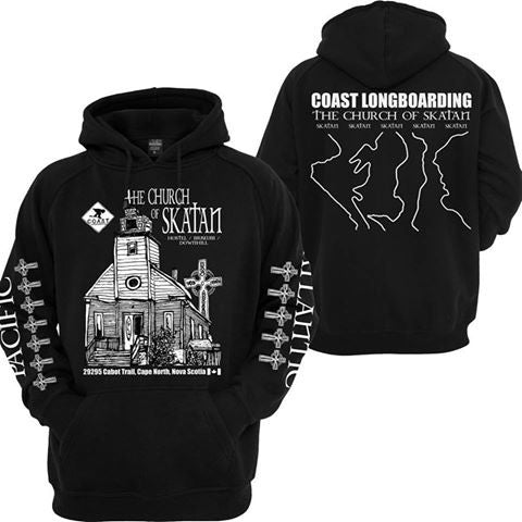 Church of Skatan hoodie for Striker
