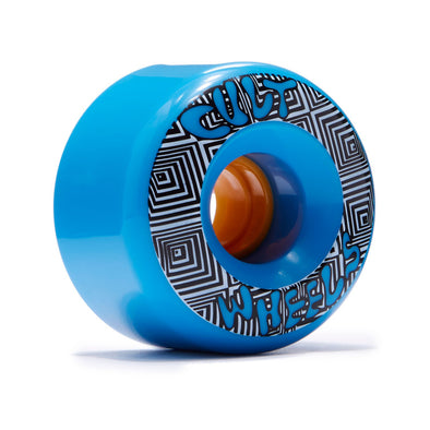 Cult Converter 70mm 85a blue slide-o-matic longboard wheel