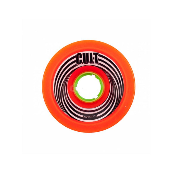 Cult 72mm Psychothane 81a Death Ray longboard wheels