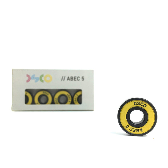 DSCO Bearings Abec 5 with yellow shields