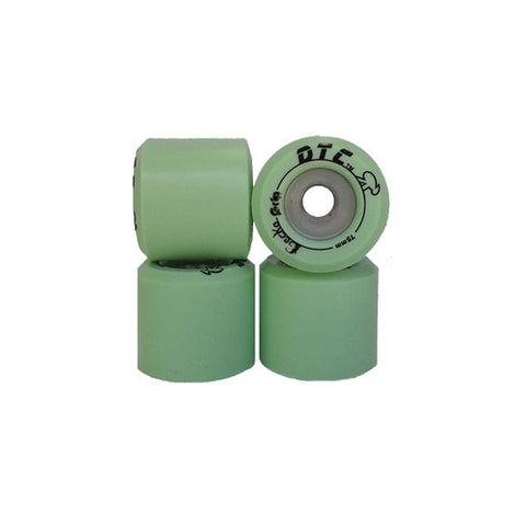 DTC Gecko Grip 75mm longboard wheels