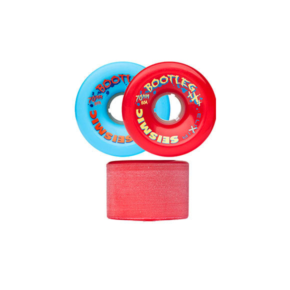 Seismic Bootleg 70mm longboard wheels