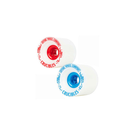 Divine Crucibles 73mm longboard race wheels