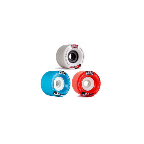 RAD Release 72mm longboard wheels
