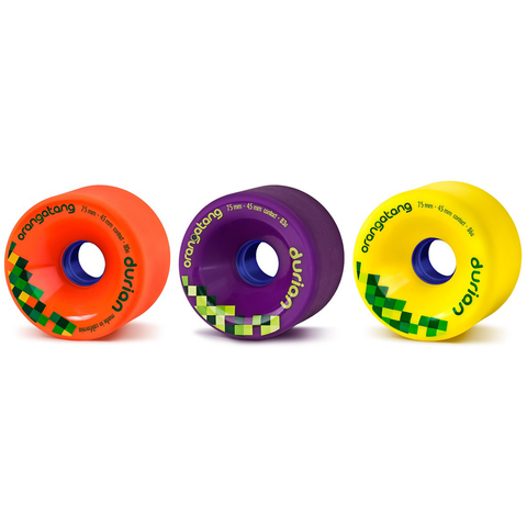 Orangatang Durian 75mm freeride wheels