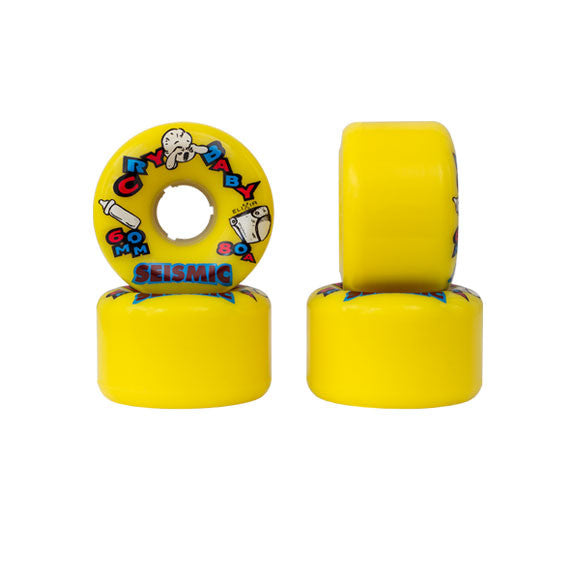 Seismic Cry Baby 60mm longboard wheels
