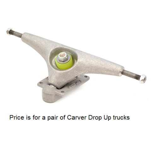 "Carver CV Drop Up 10"" surfskate trucks"