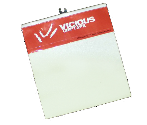 Vicious Grip Tape Clear (new 4 sheet packet)