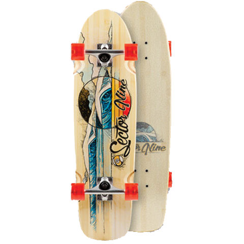 Sector 9 Bamboozler 2017 longboard complete