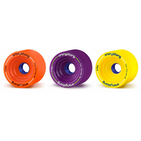 Orangatang In Heat 75mm longboard race wheels