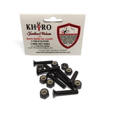 "Khiro Mounting Hardware Pack - Flathead 1"" to 3"""