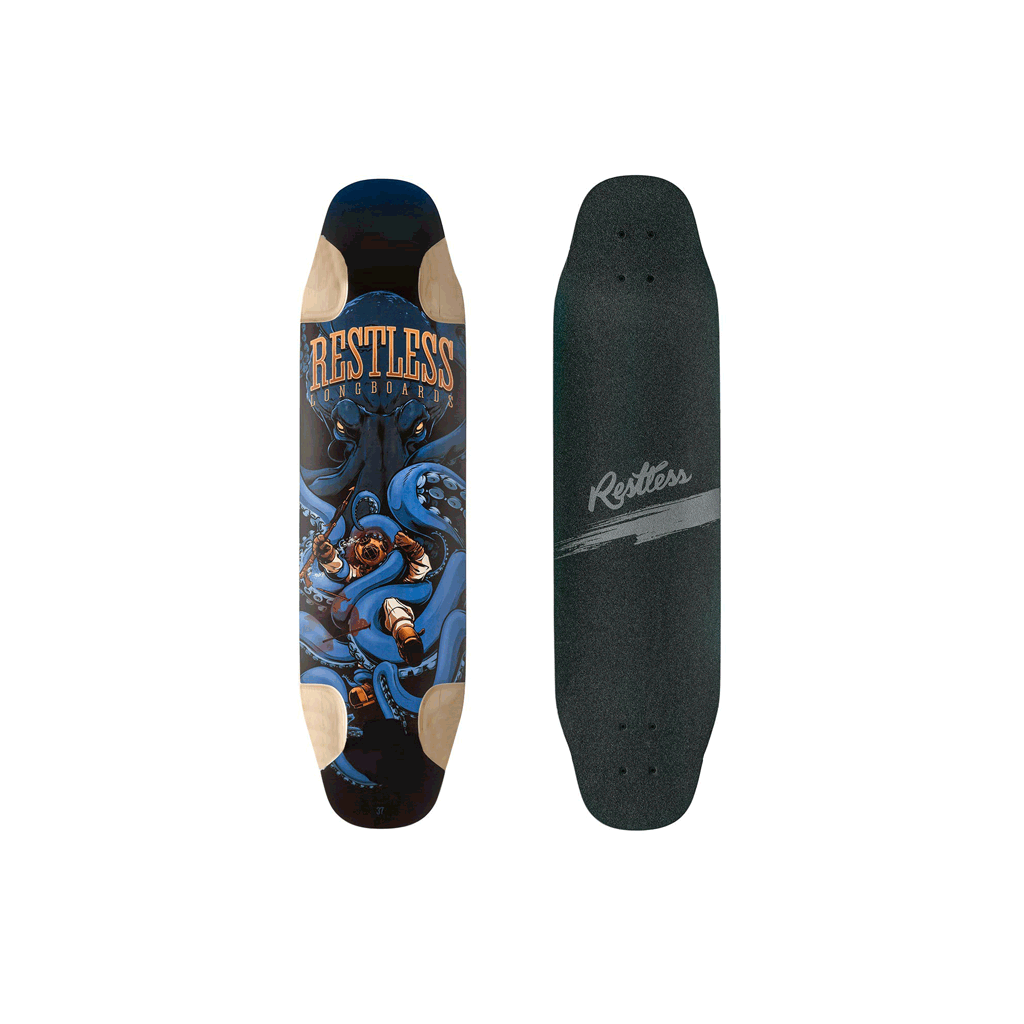 "Restless FishBowl 37"" longboard deck"