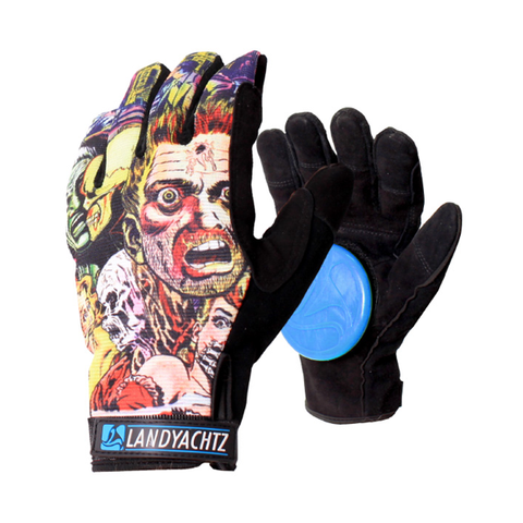 Landyachtz Comic freeride longboard slide gloves