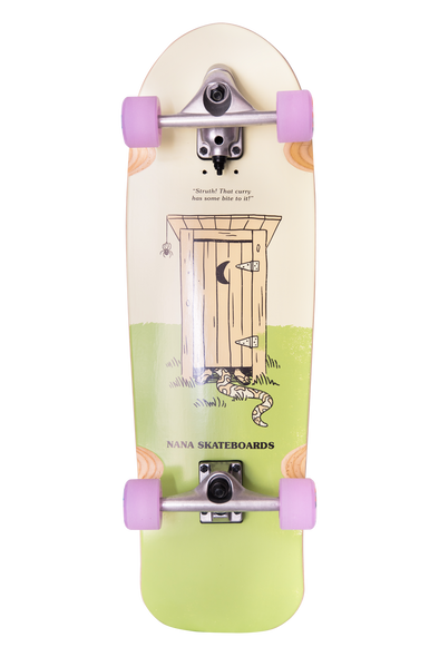 "Nana Lil Ripper 31"" surfskate complete"